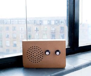 Cardboard Radio by SuckUK