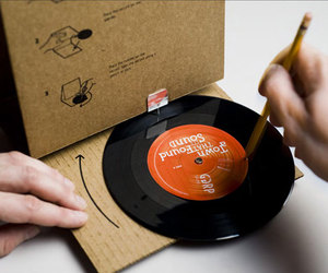 Cardboard Record Player