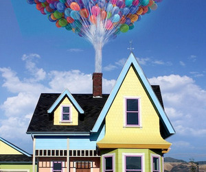 Carl + Ellie's Home From 'Up' Replicated by Bangerter Homes