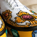 Carl Medley III Customized Sneakers