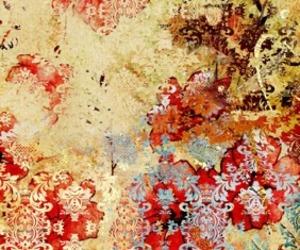 Carpet with vintage look