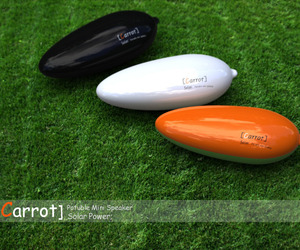 Carrot: The solar powered portable speaker system
