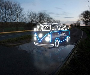Cars Painted With Light