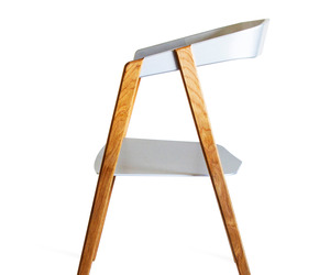 Cartesian, Aluminum Stackable Chair by Alex Purcell