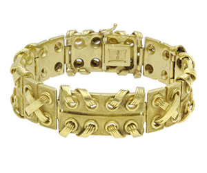 Cartier Gold Bracelet  | FD Gallery