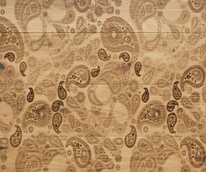 Carving Paisley 1 Wood Flooring