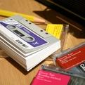 Cassette Tape Notebook from Wednesday Garden