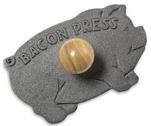 Cast-Iron Bacon Press