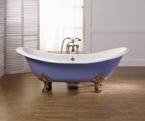 cast-iron bath tub from Aston Matthews
