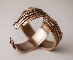 Cast Natural : Grain Bracelets & Rings