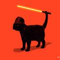 Cat Vader by Nicebleed