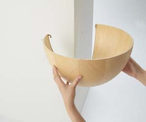 Catch Bowl Shelf By Torafo Architects
