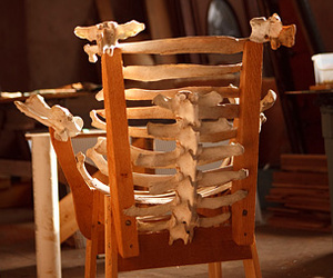 cattle bone chair