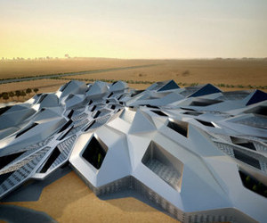 cellular crystalline structure rises in Riyadh
