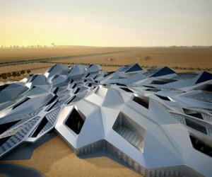 cellular crystalline structure rises in Riyadh
