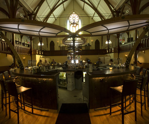Central bar for Grace restaurant