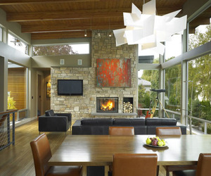 Central Washington River House by McClellan Architects