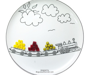 Ceramic Plates BS Toy by Boguslaw Sliwinski