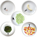 Ceramic Plates Designed for Interactive Food Fun