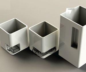 Ceramic Tea Cups & Kettle by Kaja Nosal