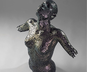 Chain Sculptures by Young-Deok Seo