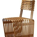Chair Bamboo Box