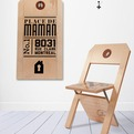 Chaise Etiquette Label Chair by Felix Guyon