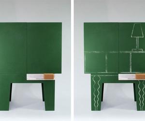 Chalkboard Storage Cabinet by Peter Jakubik