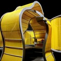 Chameleon, Modular Workplace by Michael Jantzen