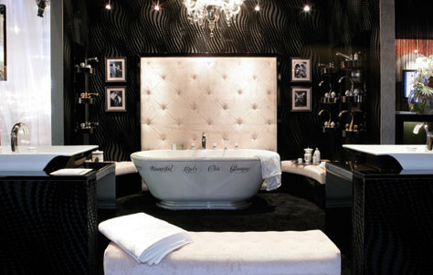 chantal thomass bath collection for thg paris. Black Bedroom Furniture Sets. Home Design Ideas