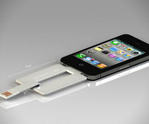ChargeCard for Apple iPhone and Android Smartphones