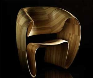 Charming and Beautiful chair by Tom Vaughn