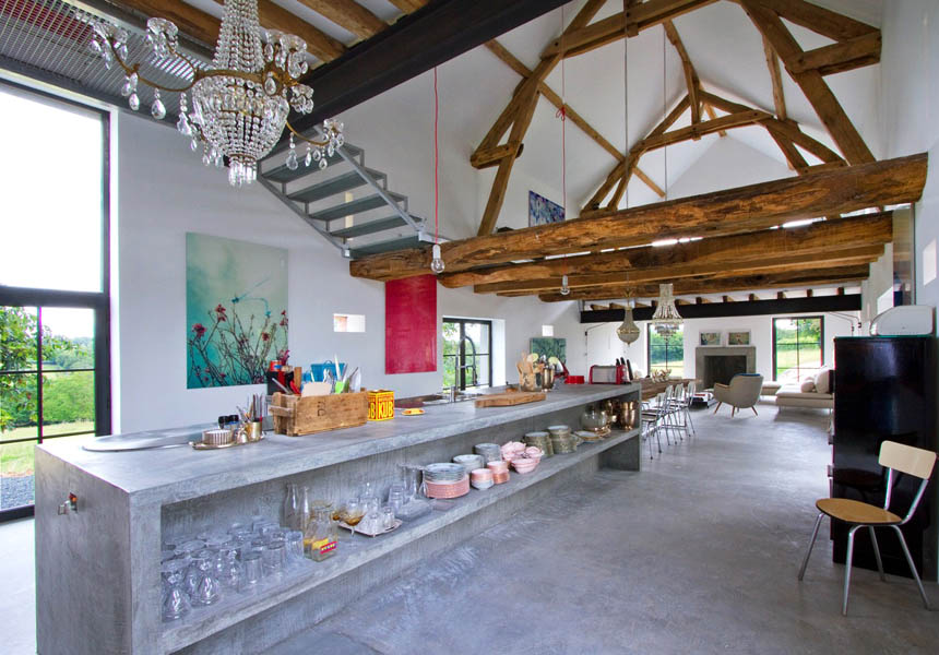 Charming Barn House In France By Josephine Interior Design
