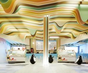 Charming Ice Cream Castle by Scenario Interior Architects