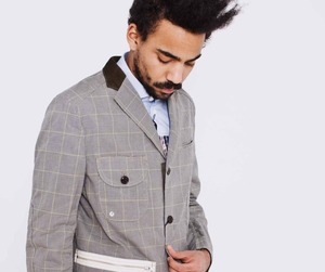 Checked Jacket by Junya Watanabe