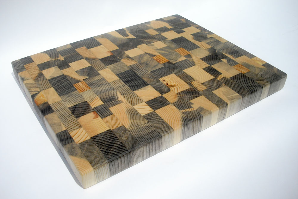 Cheese Board Made From Blue Pine