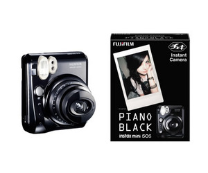 Cheki: Instant Camera with Cool Piano Black