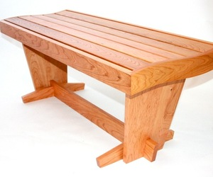 Cherry Bench by Fine Line Creations