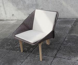Chevalet armchair by Thomas Merlin