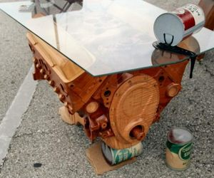Kino Guérin Chevrolet 350 Engine Coffee Table ...