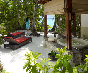 Chi Spa at Shangri-La Villingili Resort in Maldives