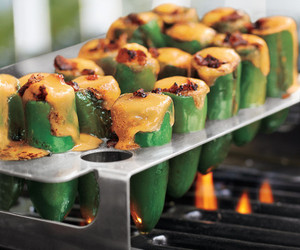 Chili Pepper Grill Rack and Corer