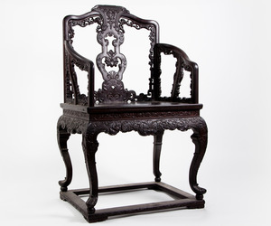 Chinese Imperial Zitan Armchair