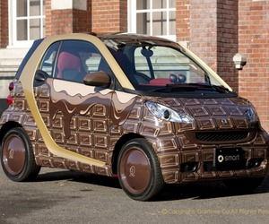 Chocolate Car From Mercedes Benz
