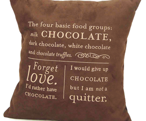 Chocolate Lovers Pillow
