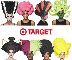 Chris March Designs Halloween Wigs for Target