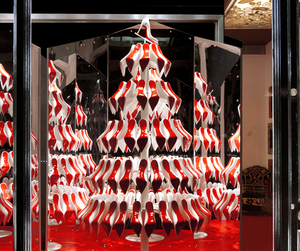 Christian Louboutin Christmas Window by studio XAG