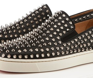 Christian Louboutin Roller-Boat Spikes Flat Sneakers