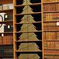 Christmas Tree of Re-purposed Books