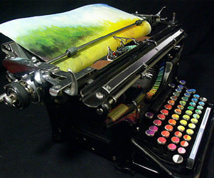 Chromatic Typewriter: